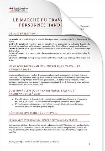 ETH 2025 - Dossiers prospectifs - Emploi