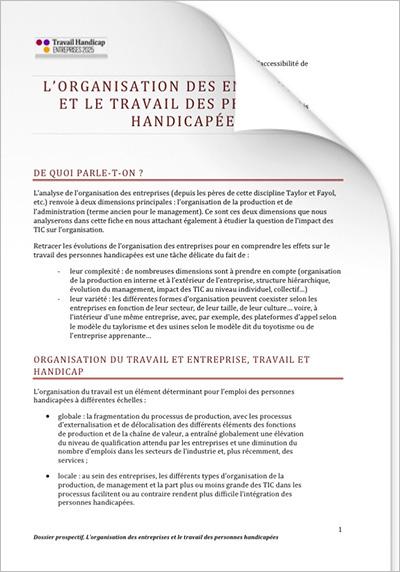 ETH 2025 - Entreprises et RH « Organisation des entreprises » (PDF)