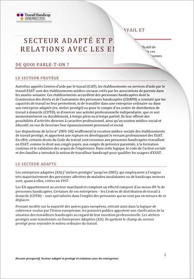 ETH 2025 - Entreprise et RH « Secteur adapté et protégé » (PDF)