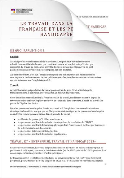 ETH 2025 - Dossiers prospectifs - Contexte social