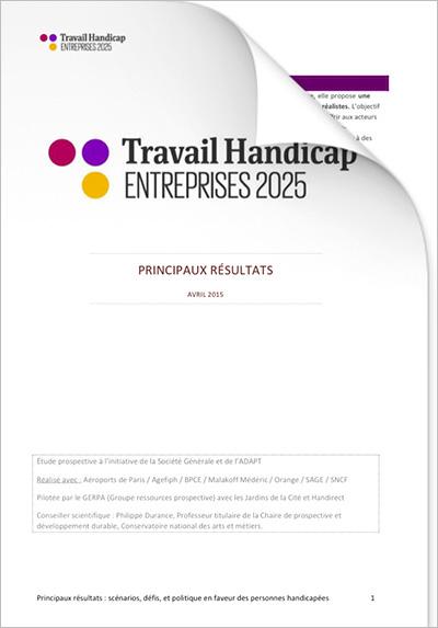 ETH 2025 - Les principaux résultats - avril 2015 (PDF)